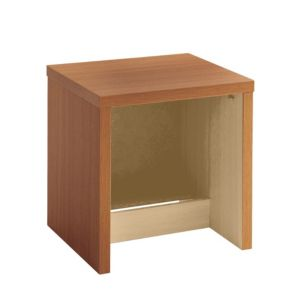 View Cooke & Lewis Walnut Effect 2 Drawer Bedside Chest (H)511mm (W)500mm (D)440mm details