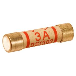View B&Q 3A Fuse, Pack of 4 details
