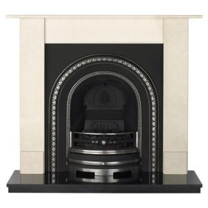 View Aurora Dorchester Black Remote Control Electric Fire Suite details