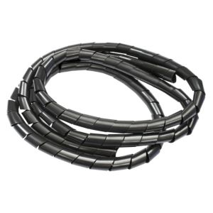 Image of B&Q Black Plastic Spiral Cable Tidy