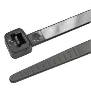 Image of B&Q Black Cable Ties (L)295mm Pack of 50