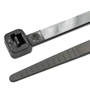 View B&Q Black Cable Ties (L)295mm, Pack of 200 details