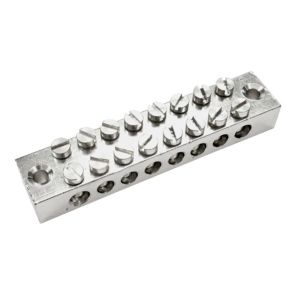 B&Q Silver 8-Way Earthing Block