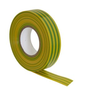 View B&Q Green & Yellow Insulating Tape (L)33m details
