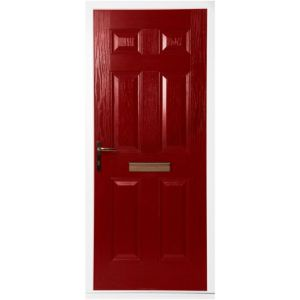 View Downing Black GRP RH Front Door & Frame (H)2055mm (W)920mm details