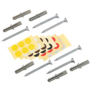 View Steel Shelving Upright Fixing Kit (H)86mm (W)20mm details