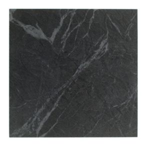 View Colours Black Stone Effect Self Adhesive Vinyl Tile 0.6m² Pack details