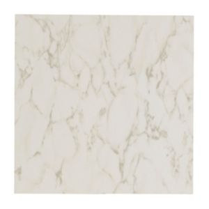 View Colours Harpia White Stone Effect Self Adhesive Vinyl Tile Pack 0.6m² details