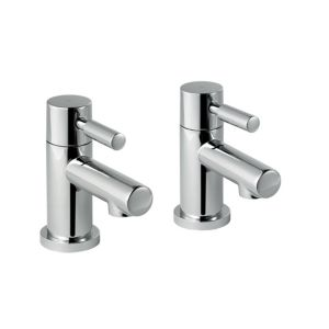 View B&Q Cirque Chrome Hot & Cold Bath Tap, Pack of 2 details