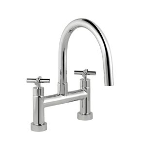 View B&Q Quattre Chrome Bath Tap details