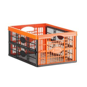 View B&Q Black 32 L Crate details