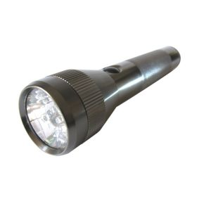 View B&Q Aluminium LED Torch details