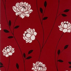 View Colours Paste The Wall Sienna Red Wallpaper details