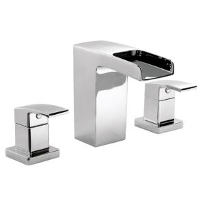 View Cooke & Lewis Cascade Chrome Bath Tap details