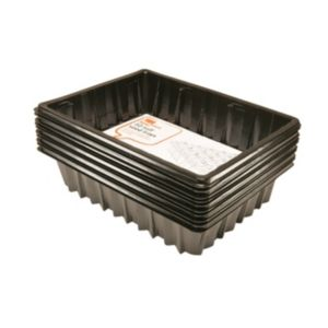 View B&Q Black Plastic Seed Tray, Pack of 10 details