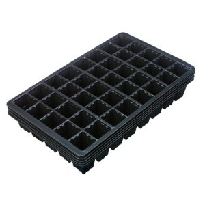 View B&Q Black Plastic 40 Seed Tray, Pack of 5 details