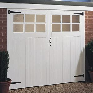 Side Hung Garage Door Pair  (H)2134mm (W)2134mm