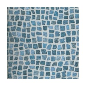 View Colours Tadorna Dark Blue Mosaic Effect Self Adhesive Vinyl Tile Pack 0.6 m² details
