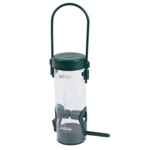 View B&Q Green Plastic Bird Feeder details
