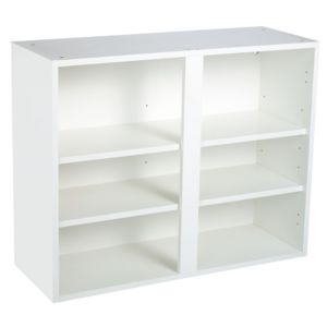 View Cooke & Lewis White Wall Unit Carcass (W)900mm details