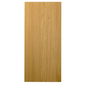 Cooke & Lewis Solid Oak Wall Panel 355 mm