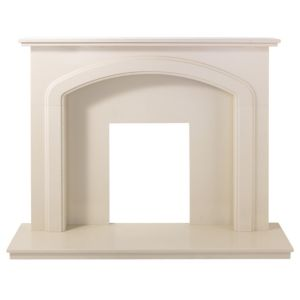 View Cameo Cream Micro Marble (H)1.060 (W)1.372m Surround Set details