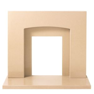 View Mercury Mocha Micro Marble Fire Surround Set details