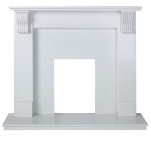 View Victoria White Micro Marble Fire Surround Set details