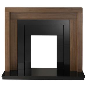 View Rochester Walnut Veneer Brown Fire Surround Set details