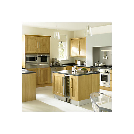 It kitchens solid oak classic op4 door frame w 500mm for Kitchen cabinets 500mm