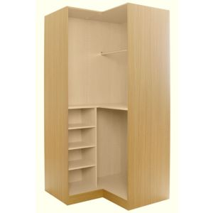View Cooke & Lewis Oak Effect Corner Wardrobe Carcass details