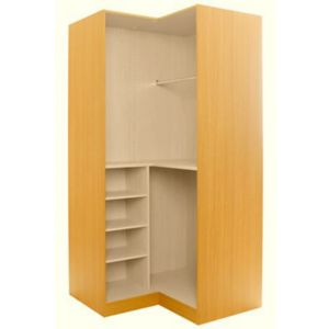 View Maple Effect Corner Wardrobe Cabinet details