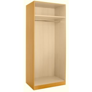 View Cooke & Lewis Maple Effect 3 Drawer Double Wardrobe Carcass details