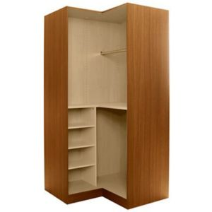 View Cooke & Lewis Walnut Effect Corner Wardrobe Carcass details