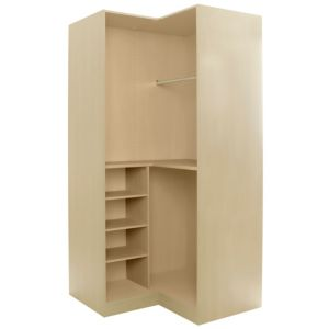 View Cooke & Lewis Cream Corner Wardrobe Carcass (H) 2112 mm (W) 1060 mm details