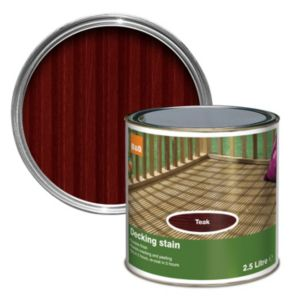 View Colours Teak Matt Finish Decking Stain 2.5L details