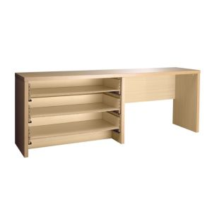 View Cooke & Lewis Dressing Table (H)730mm (W)1.964m (D)440mm details