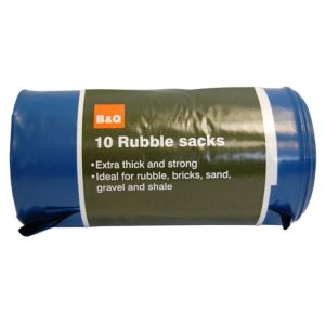 View B&Q Rubble Sack details