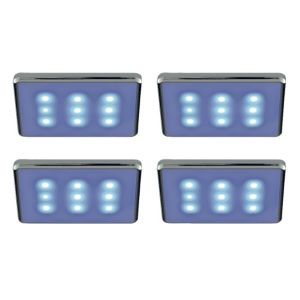 View B&Q Select Plugin LED Cabinet Light Kit (L)83mm 0.05W, Pack of 4 details