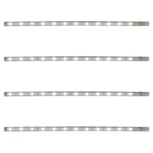View B&Q Select Plugin LED Cabinet Light Kit (L)300mm 0.05W, Pack of 4 details