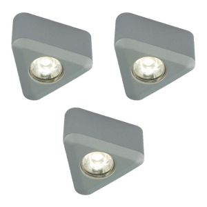 View B&Q Select Plugin LED Cabinet Light Kit 1W, Pack of 3 details