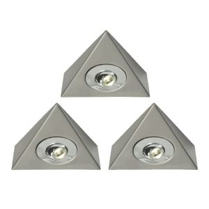 View B&Q Select Plugin LED Cabinet Light Kit (L)140mm 1W, Pack of 3 details