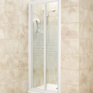 View B&Q Bi-Fold Shower Door (W)800mm details