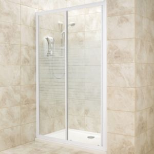 View Rectangular Single Sliding Shower Door (W)1200mm (D)1200mm details