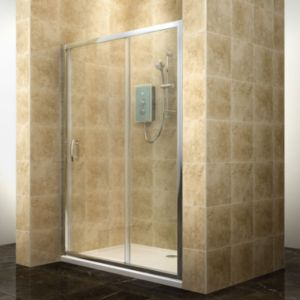 View Cooke & Lewis Deluvio Rectangular Shower Door (W)1200mm (D)1200mm details