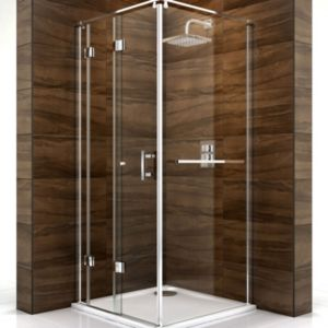 View Cooke & Lewis Cascata Square Shower Enclosure with Bi-Fold Door (W)760mm (D)760mm details