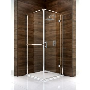 View Cooke & Lewis Cascata Square Shower Enclosure (W)800mm (D)800mm details