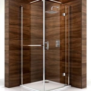 View Cooke & Lewis Cascata Square Shower Enclosure (W)900mm (D)900mm details