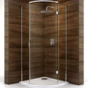 View Cooke & Lewis Cascata Quadrant Shower Enclosure (W)800mm (D)800mm details