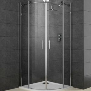 View Cooke & Lewis Eclipse Quadrant Shower Enclosure (W)800mm (D)800mm details